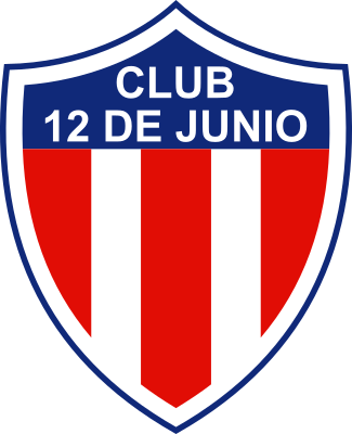 escudo 12 de Junio Foot Ball Club (Cañada Dominguez, Arroyos y Esteros)