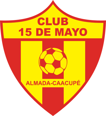 escudo 15 de Mayo Foot-Ball Club (Almada, Caacupé)