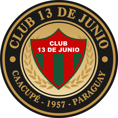 escudo Club 13 de Junio (Azcurra, Caacupé)