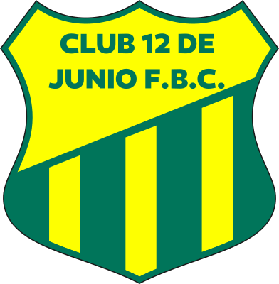 escudo 12 de Junio Foot Ball Club (Barrio Nº 3, General Artigas)
