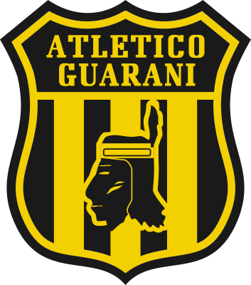 escudo Club Atlético Guaraní (Yukyrai, General Artigas)