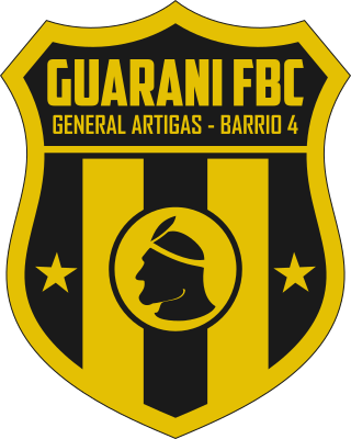 escudo Guaraní Foot Ball Club (Barrio Nº 4, General Artigas)