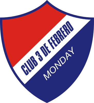 Escudo Club 3 de Febrero Monday