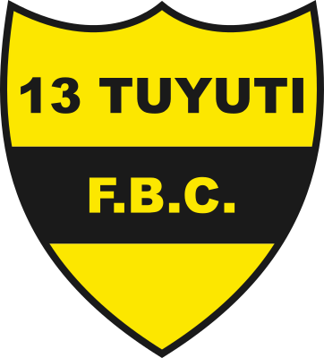 escudo 13 Tuyutí Foot Ball Club (Barrio Cerrito, Capiatá)
