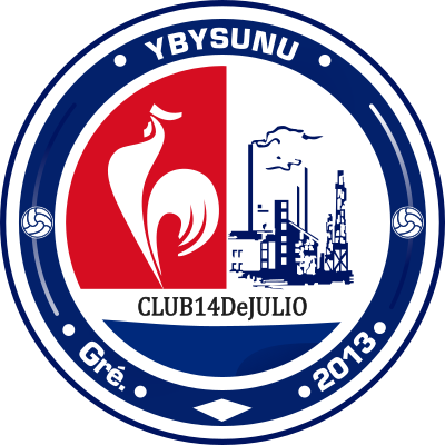 escudo Club 14 de Julio (Ybysunu, Guarambaré)