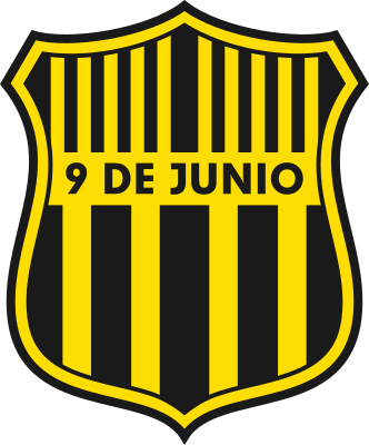 escudo 9 de Junio Foot Ball Club (Mariano Roque Alonso)