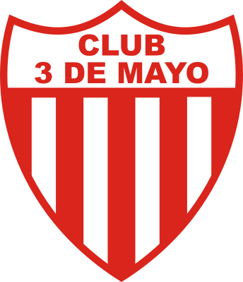 escudo 3 de Mayo Foot Ball Club (Barrio 3 de Mayo, Luque)