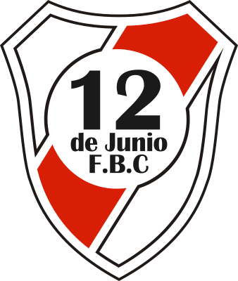 escudo 12 de Junio Foot Ball Club (Barrio Lucerito, San Lorenzo)