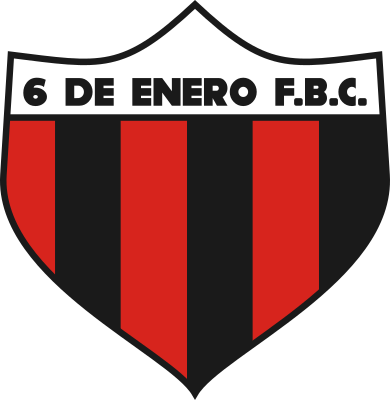 escudo 6 de Enero Foot Ball Club (Barrio Laurelty, San Lorenzo)