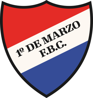 escudo 1º de Marzo Football Club (Pilar)