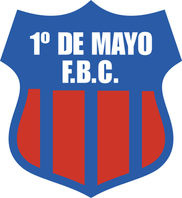 escudo 1º de Mayo Football Club (Pilar)