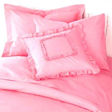 Popular Ruffle Embroidered Bed Sheet Set