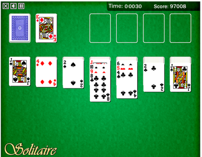 internet solitaire games
