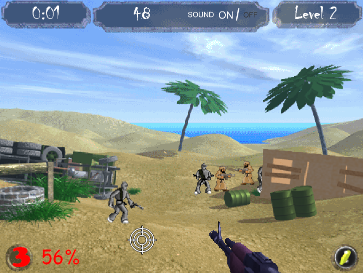 Online Game: Fight Terror Gadget, Fun & Games, Sports