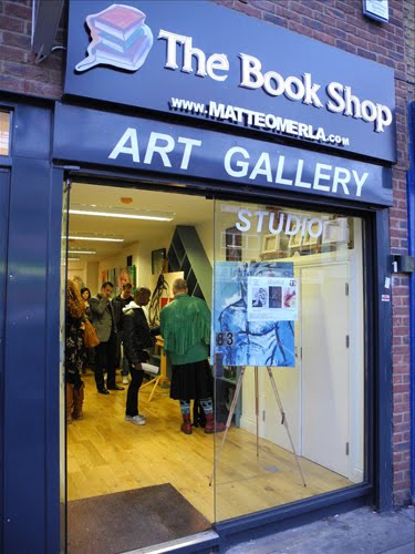Bookshop Gallery Hoxton front