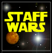 Staff Wars game logo