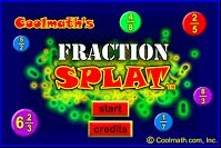 Fraction splat