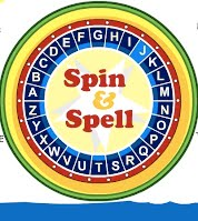 Spin and spell wheel