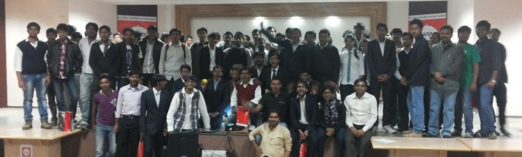 eChai Demo Day @ B H Gardi College on 18th January, 2014