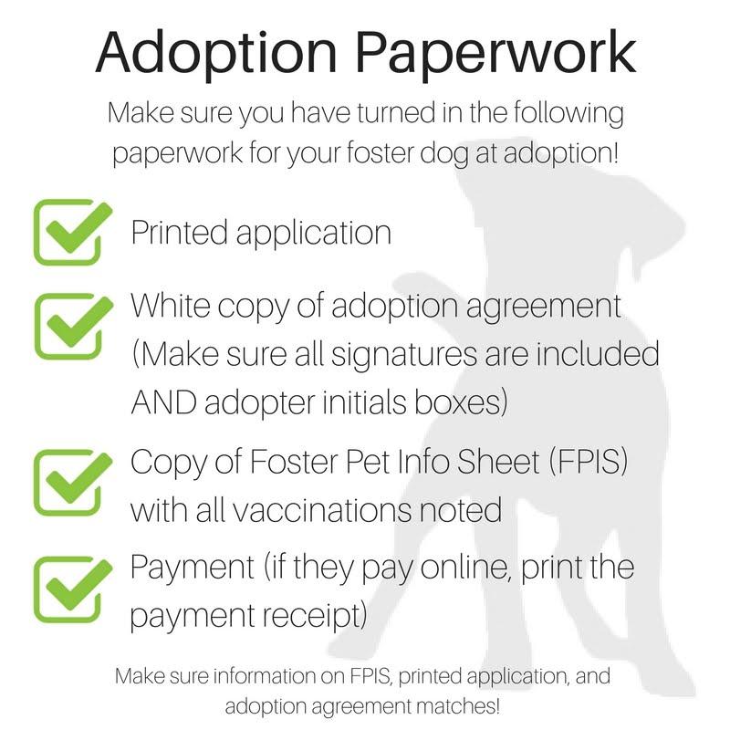 Adoption Paperwork Gpg Foster Portal