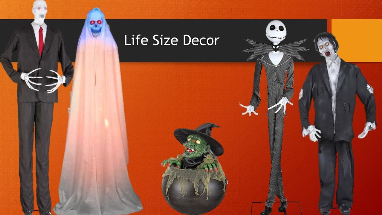 life sized figures - Www Gemmy Com Halloween