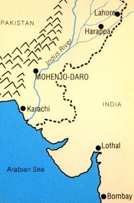 Harappa World Map.Mohenjo Daro Harappa General Knowledge Bank Club