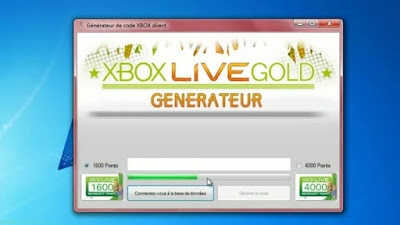 code xbox live gratuit en ligne code gratuit xbox live gold. Black Bedroom Furniture Sets. Home Design Ideas