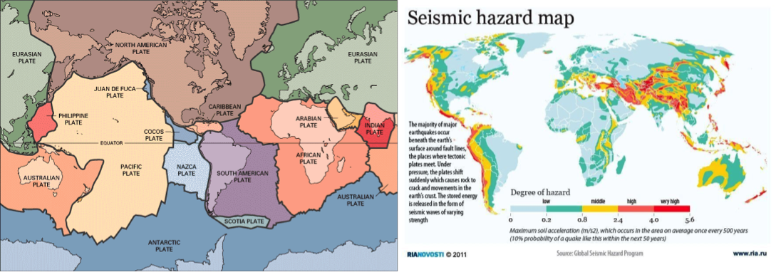 Where do Earthquakes Occur? - Earthquakes SA