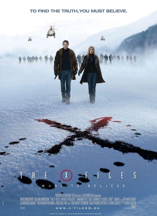Afiche de Los expedientes secretos X: Quiero creer