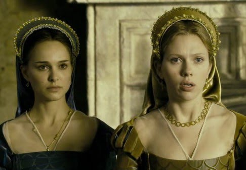 Las hermanas Bolena: Natalie Portman y Scarlett Johansson