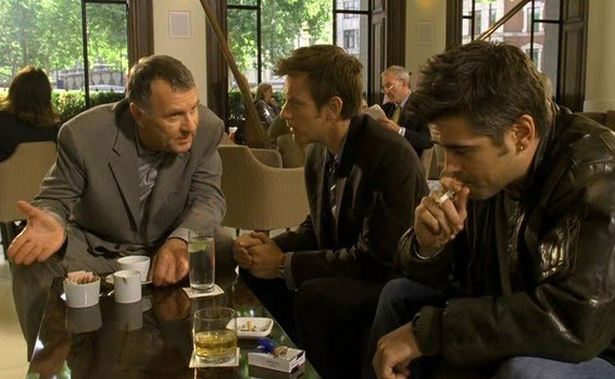 Tom Wilkinson, Ewan McGregor y Colin Farrell