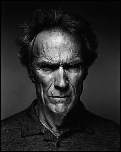 Clint Eastwood. Serio