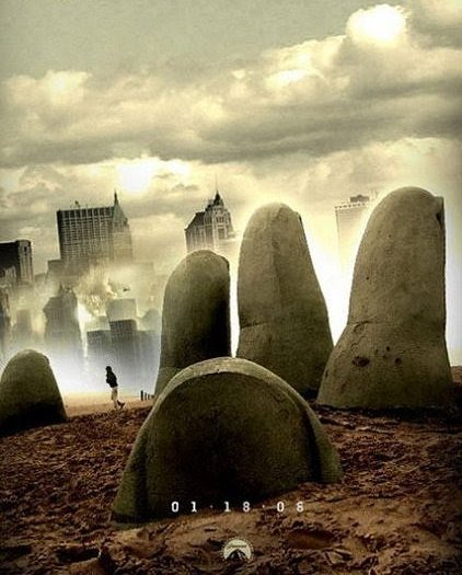 cartel alternativo de Cloverfield