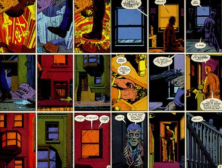 viñeta de Watchmen