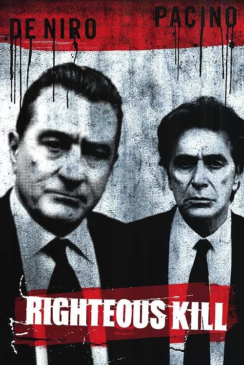 Afiche de Righteous Kill