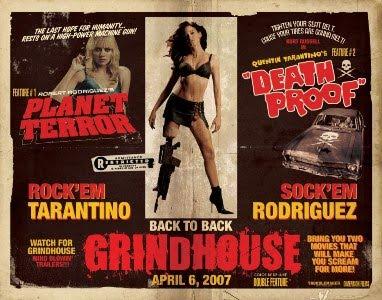 Homenaje de Quentin Tarantino y Robert Rodríguez al género Grindhouse