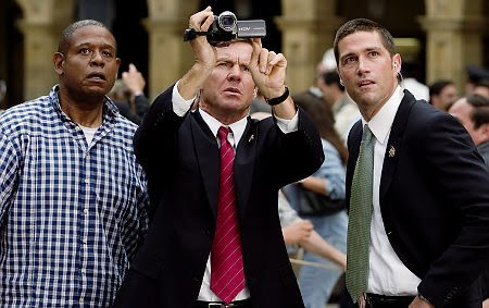 Forest Whitaker, Dennis Quaid y Matthew Fox (sí, el de Lost)