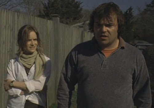 Jack Black con Jennifer Jason Leigh
