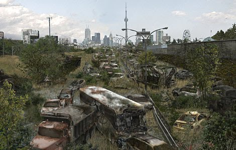 miles de coches y micros quedarían abandonados