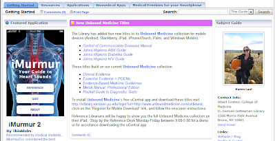 LibGuide on Mobile Resources from D. Samuel Gottesman Library