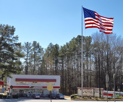 The Pit Stop, 100 Petrol Point, winner of the Fly the Flag o'er Fayette Award