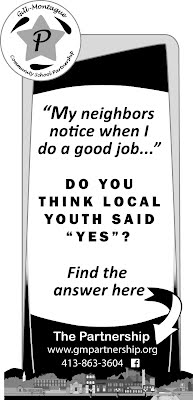 """Ad from The Montague Reporter asks """"Do You think local youth said 'Yes'?"""""""