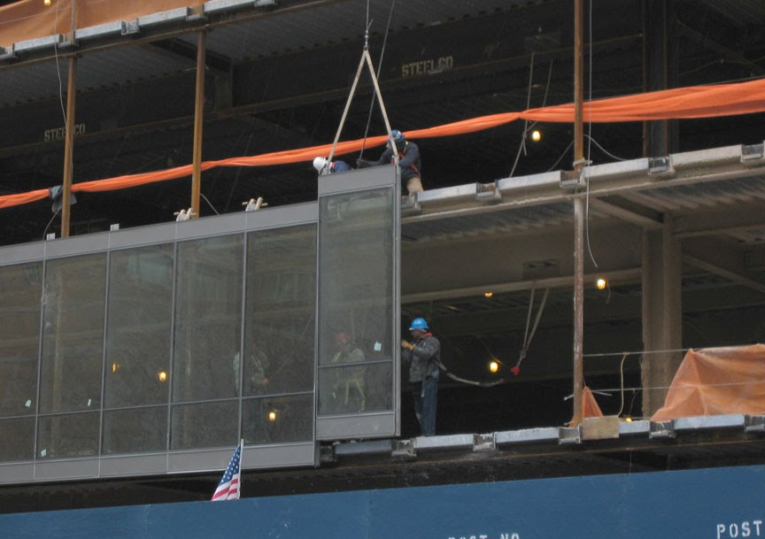 Glass Curtain Wall Installation