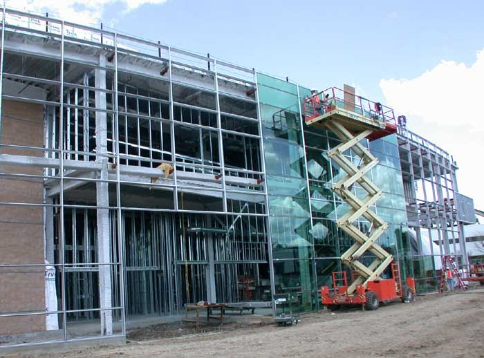 System Types - Glass Curtain Wall Installation