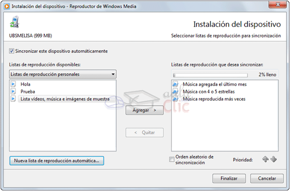 UNIDAD 8. Reproductor de Windows Media - WINDOWS 7