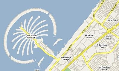 Maps Mania: Dubai, Abu Dhabi (UAE) now on Google Maps!