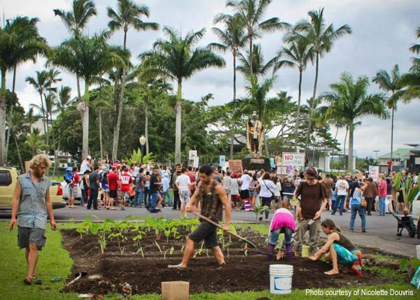 GMO Free Hawaii Island March Against Monsanto Hilo Hawaii 2013