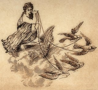 Aphrodite and the Doves - Goddess Animals