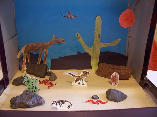Desert Video/Diorama Project - Go Home Critters