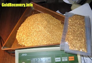 gold recovery system